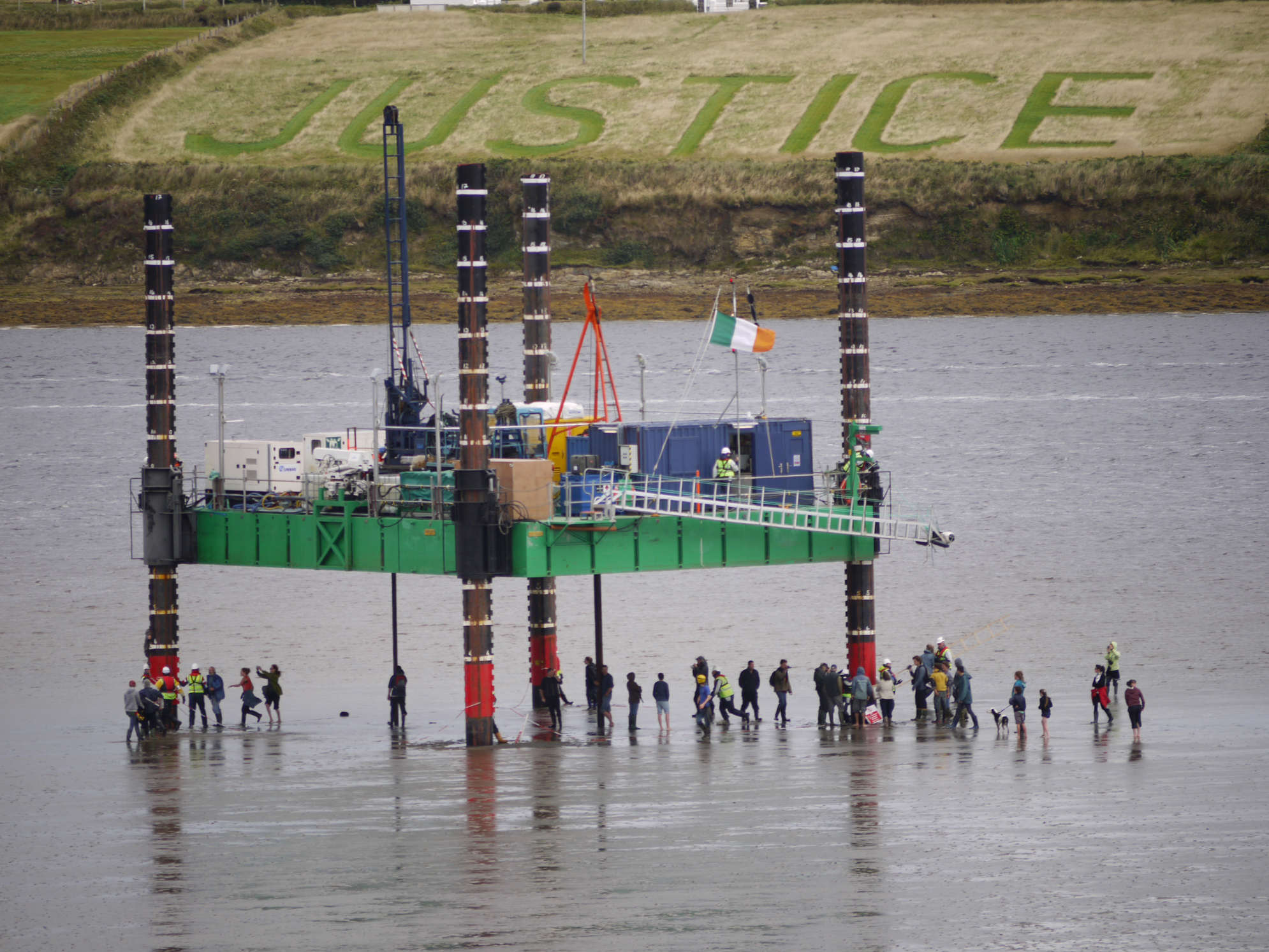 Justice & Stopping Shell drilling