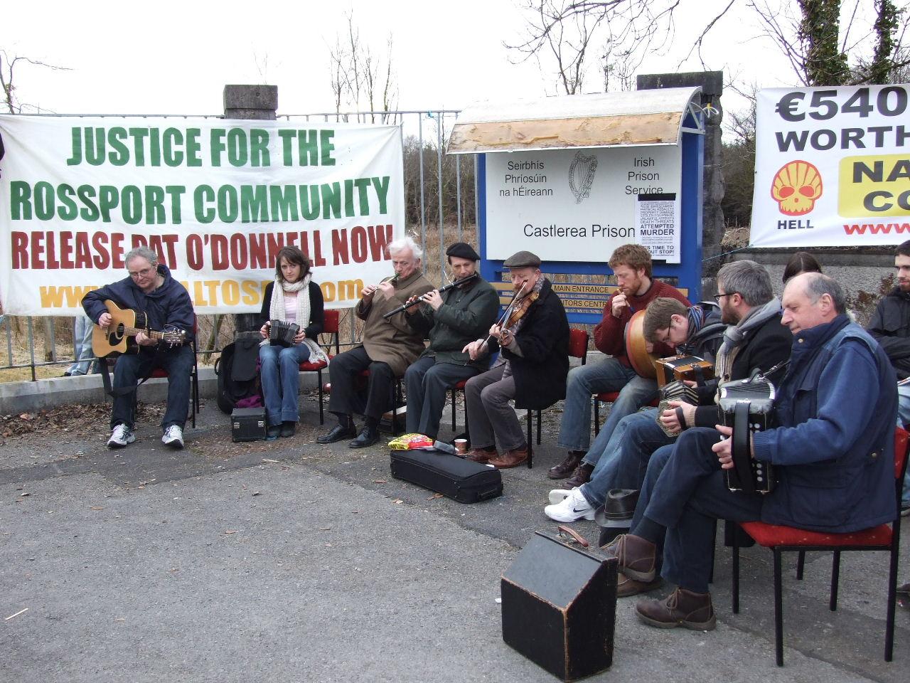 Music at Castlerea Prison