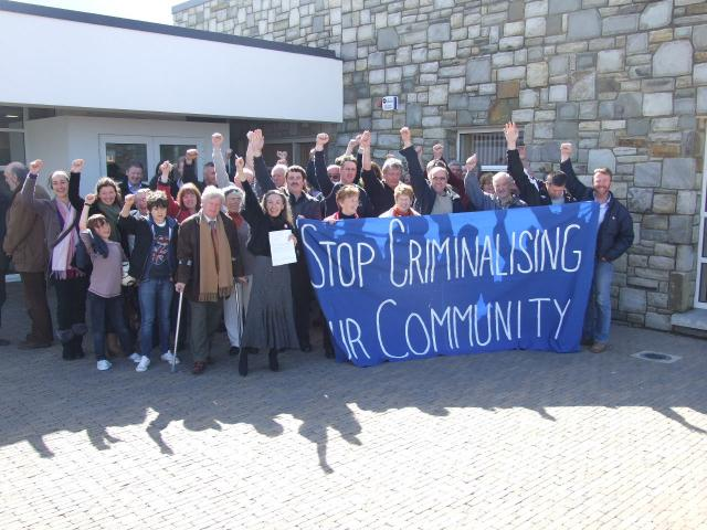Criminalising a Community